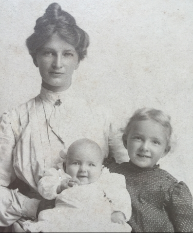 Emilie, Lilian and Myrtle early years