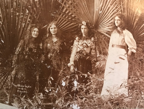 """""""The Wild Girls of Florida"""", Emilie is second from left"""