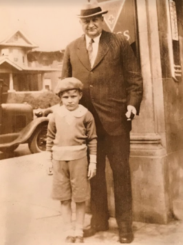 BA Scott with my father Dean Palmer Scott at about 7-9 years old